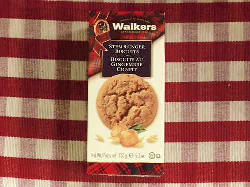 Walkers Ginger Buscuits