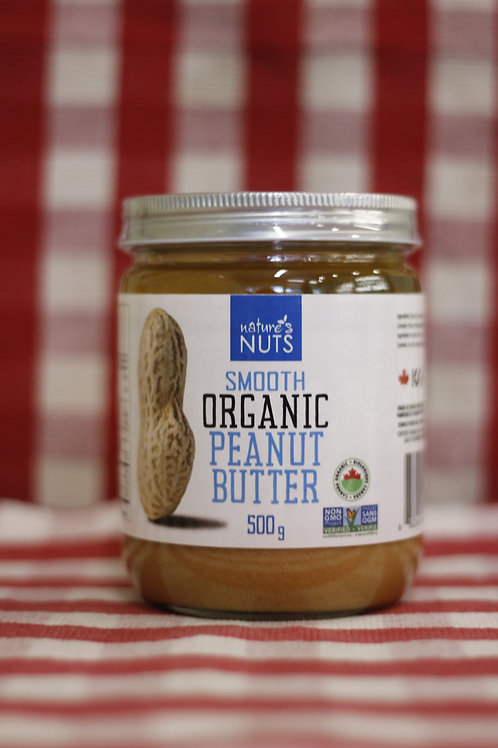 Nature's Nuts Organic Peanut Butter