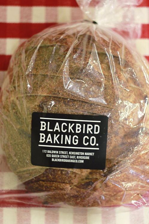 BlackBird Baldwin Brown Sourdough