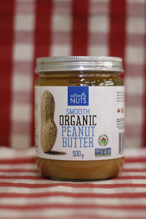 Nature's Nuts Peanut Butter