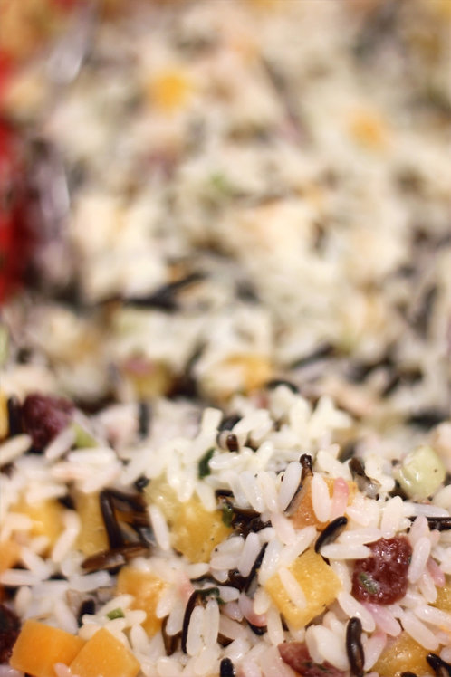 Wild Rice and Butternut Squash
