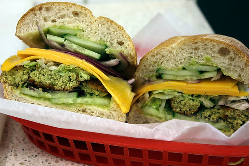 Falafel, Cheese & Veggies