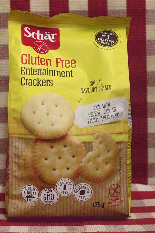 Schar Gluten Free Entertainment Crackers