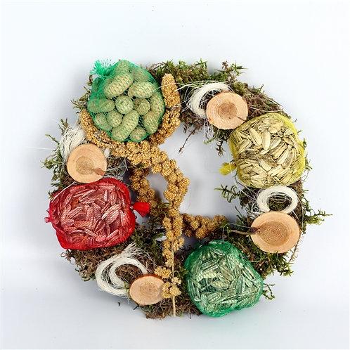 Bird Feed Wreath (30 cm)