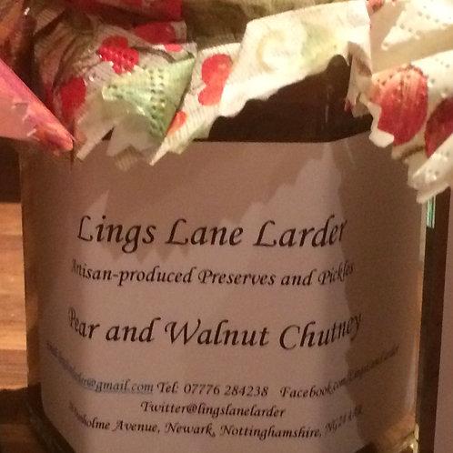 Pear & Walnut Chutney by Lings Lane Larder