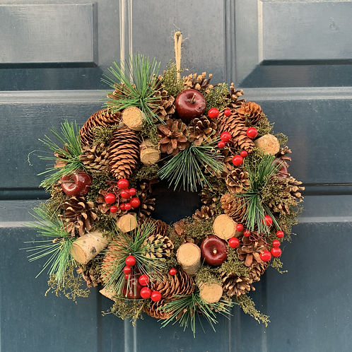 Pine Cone Wreath (30cm)