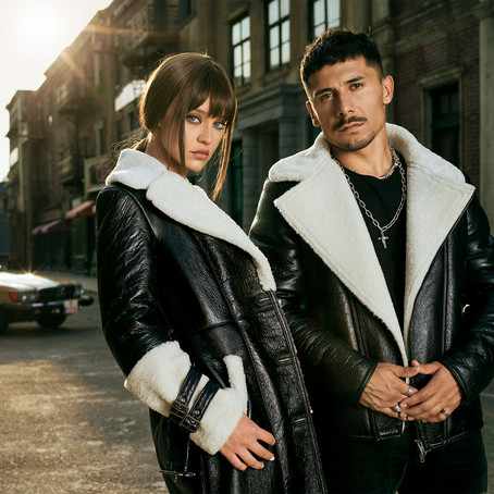 Sheepskin clothes for men and women, special design models by A&A Vesa