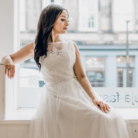 Beautiful Wedding Wear Handmade With Love In Edinburgh.