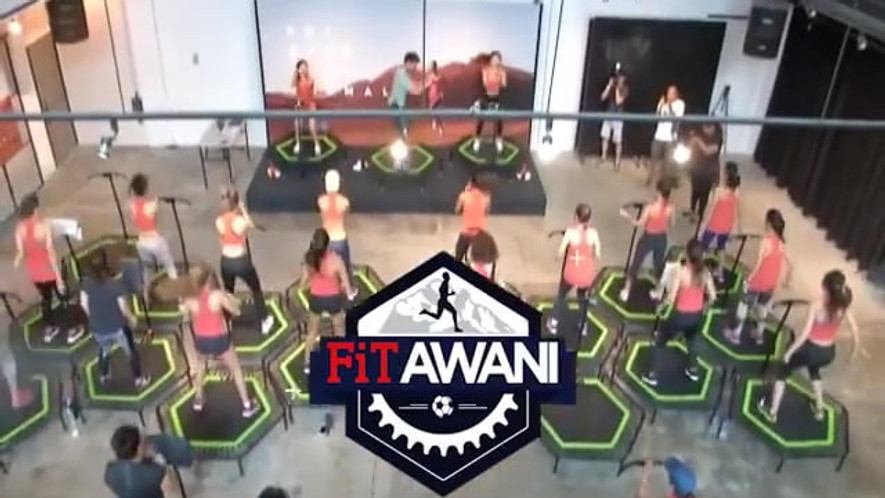 Jumping®  Fitness on Astro Awani(50s Teaser)