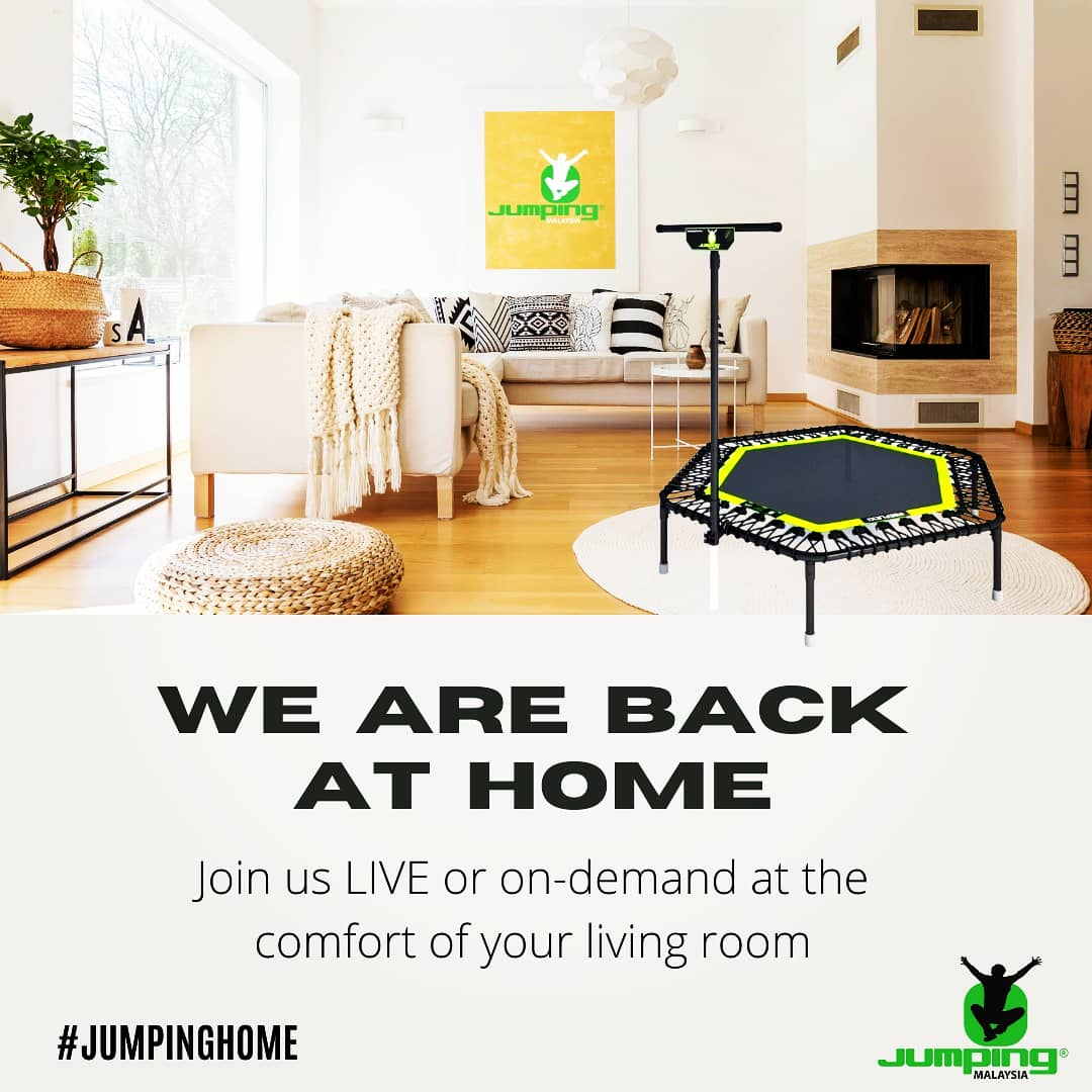 Jumping Home is back on full force!