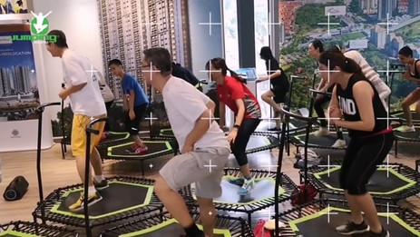 Berjaya Land Health & Fitness Day - Jumping Fitness