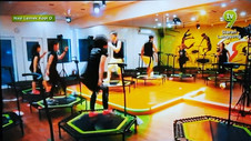 Jumping Fitness on TV9 morning talk show