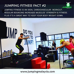 Jumping Fact #2 - Cardiovascular Fitness