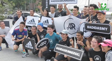 Adidas Runners Launching w Jumping Fitness