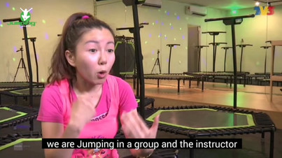 Jumping Fitness on TV3