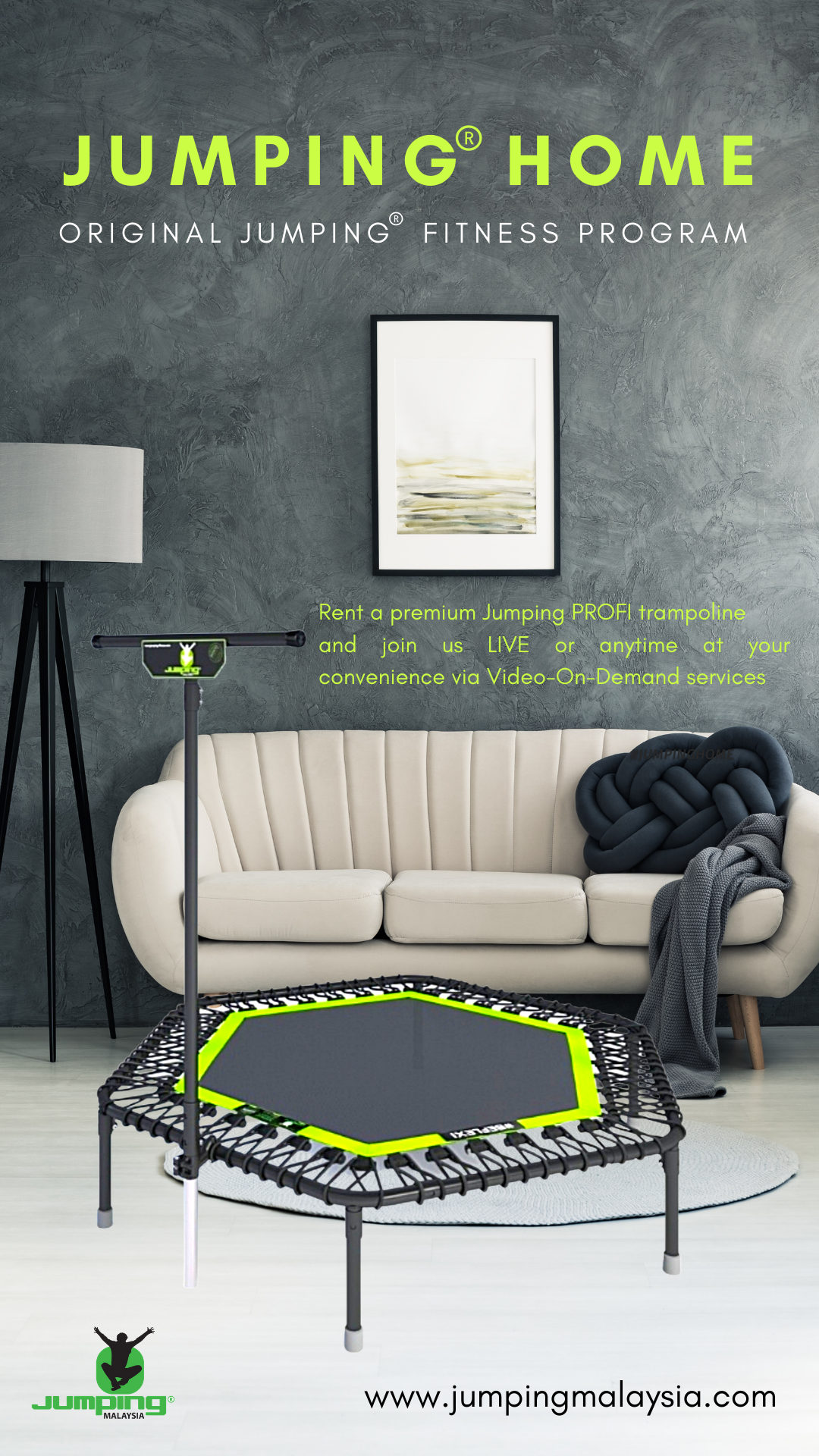 JumpingHome_Rent a Trampoline