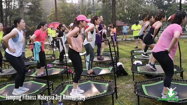 Jumping Fitness Malaysia 3rd Anniversary @Jumping in the Park