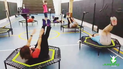 Corporate Jumping Fitness Class