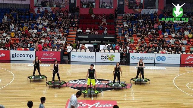 Part of our performance today at an awesome ASEAN Basketball League game btw _malaysiadragons and _f