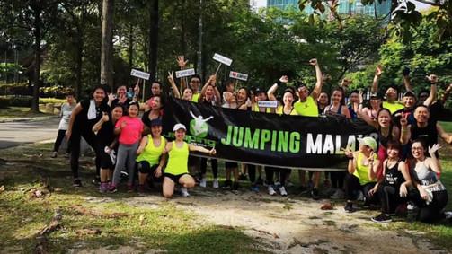 Jumping Fitness Malaysia's 2nd Anniversary at Bukit Jalil Park