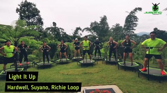 Jumping Video Shoot at Janda Baik, Bentong