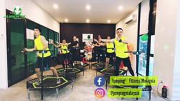 Jumping Video Shoot @Jumping Fitness Empire, Seremban