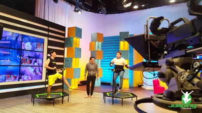 Jumping Fitness on Feel Good Show