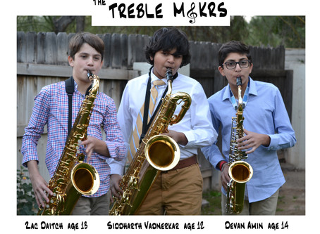 """""""The Treble Makrs"""" Inspiring Change One Note At a Time"""
