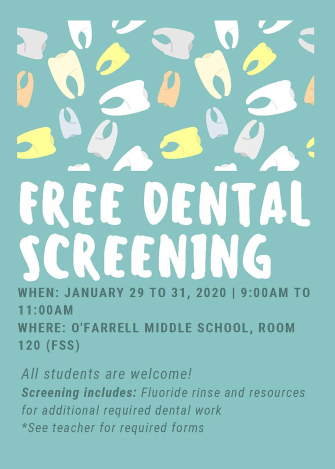 FREE Dental Screening