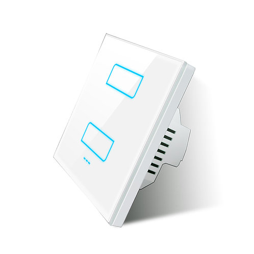 [L7-HS2]  L7 Smart Two-Gang Light Switch