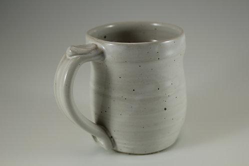 Gloss White Mug with Speckles