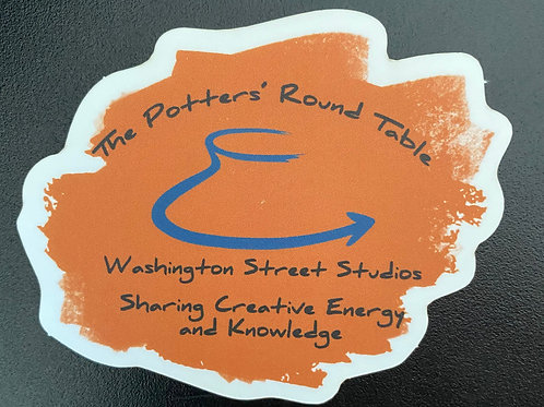 Potters' Round Table Sticker