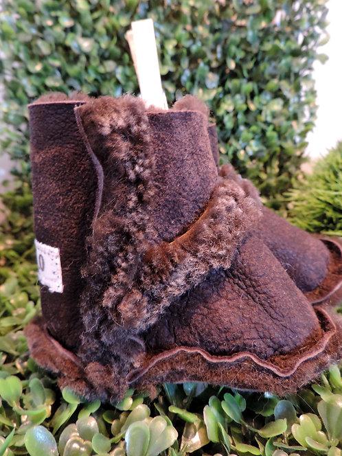 Pantoufles en peau de mouton recyclée (Bébé) #2