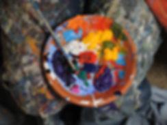 pintura de los colores