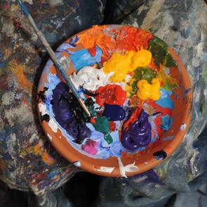 페인트 색상