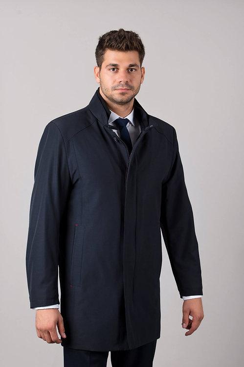 Płaszcz z podwójną stójką K-05