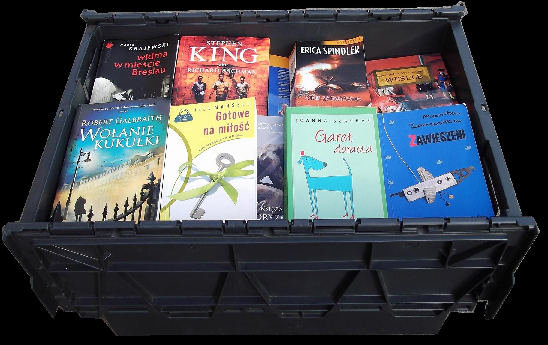 przechowywanie rzeczy 90 książek