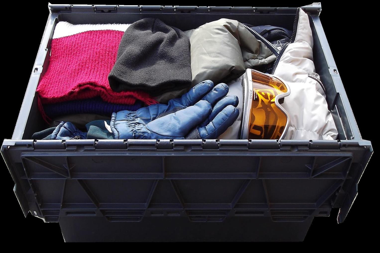przechowywanie rzeczy ubrania zimowe