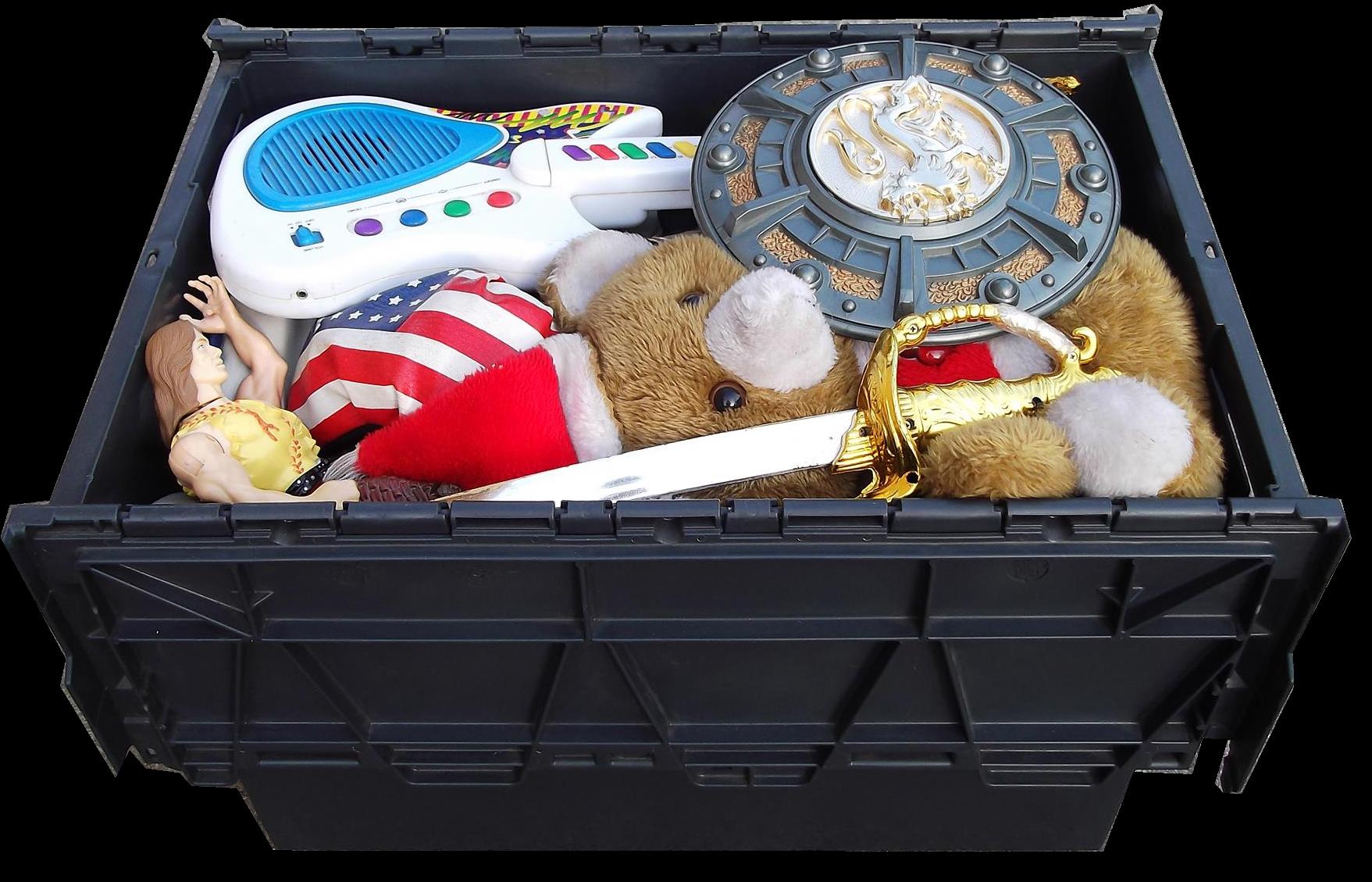 przechowywanie rzeczy -zabawki