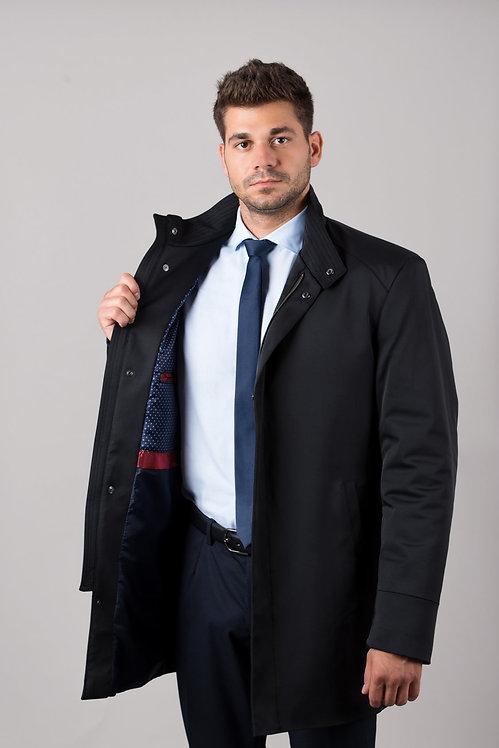 Płaszcz taliowany bawełniany K-03