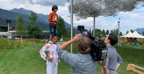 Freddy Nock bei Servus TV - Circus Roncalli @ Swarovski Kristallwelten