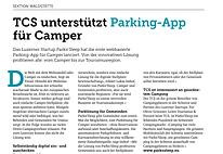 TCS - Parknsleep - Parking App für Camper