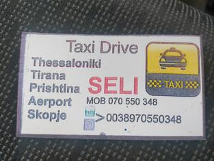 Taxi - Skopje