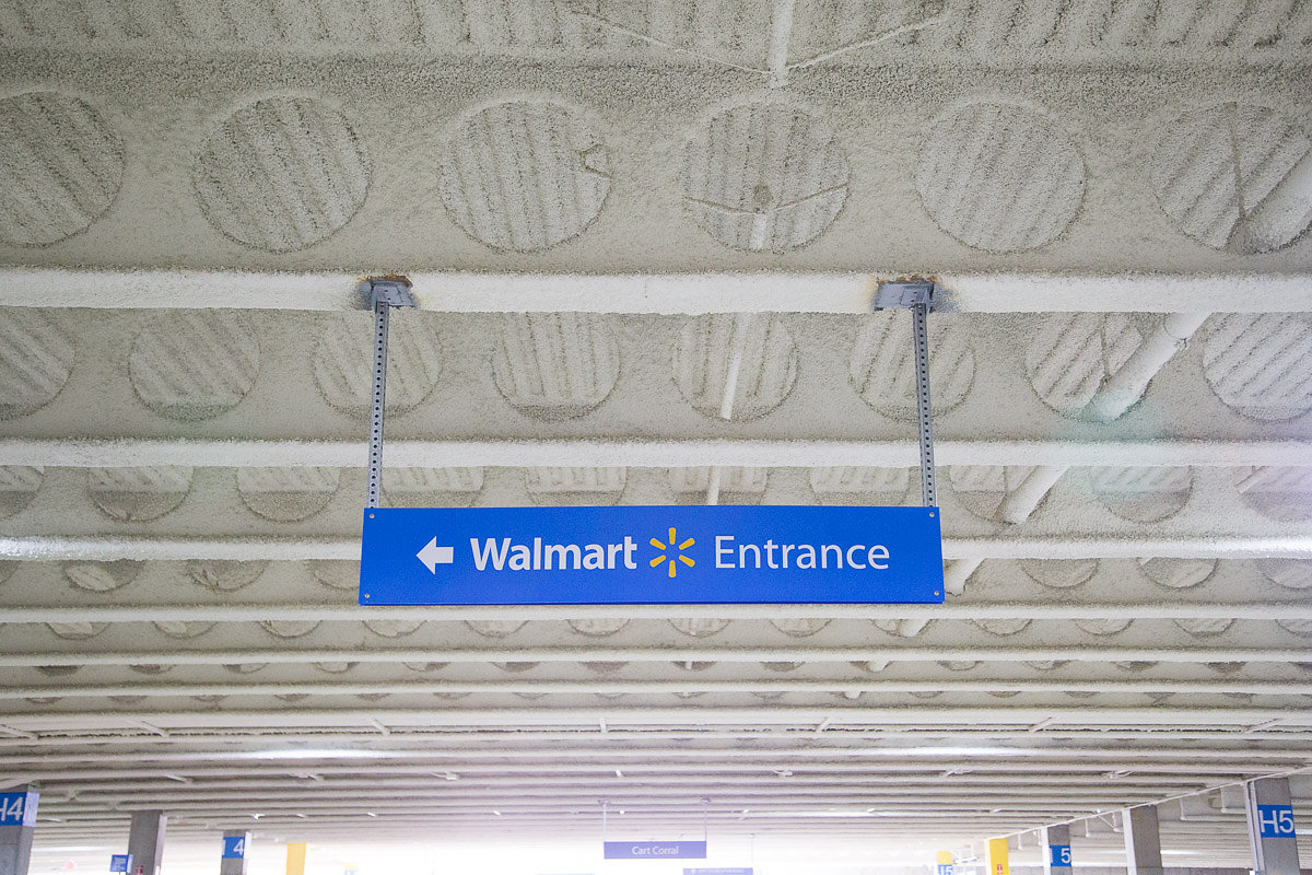 Walmart Parking Garage (Decatur, GA)