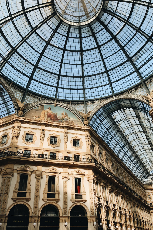 GALLERIA VITTORIO EMANUELE II - MILAN, ITLAY