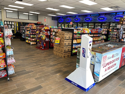 Big, clean store with many products to fit your needs.