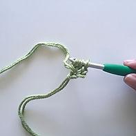 Foundation double crochet