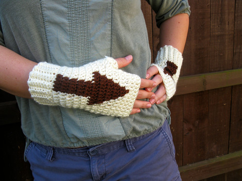 Aang And Appa Mitts Avatar Last Airbender Crochet Pattern
