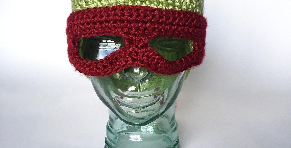 Masked Reptile hat || Crochet Pattern