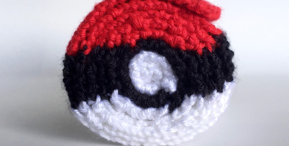 Pokésphere scarf || Knitting Pattern